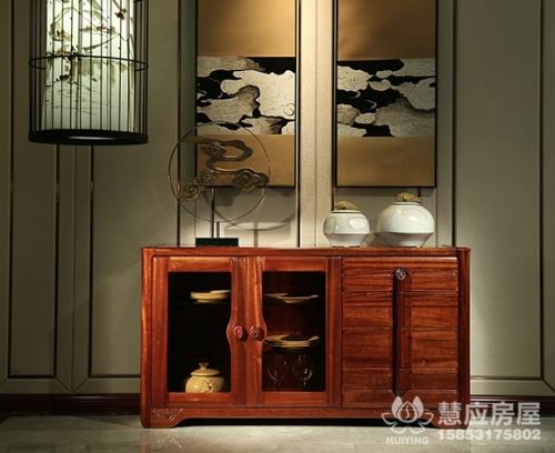 实木客厅橱柜